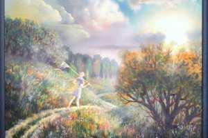 """Igor Ivanjuk """"Suvi"""" 2009 õli, 70 x 58 cm, hind 600.-"""