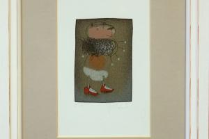 Jüri Mildeberg, serigraafia, 34,5 x 25,5 cm, hind 150.-
