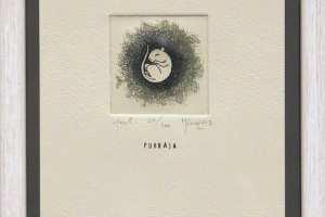 """Kadi Kurema """"Puhkaja"""" 2017. 17 x 23 cm"""