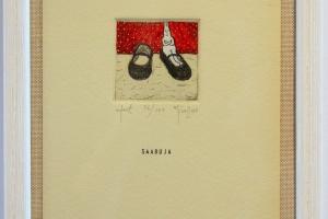"""""""Saabuja"""" 22,9 x 16,7 cm"""