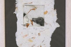 """""""Koer"""". 23 x 17 cm"""