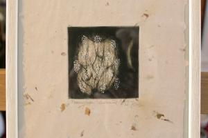 """""""Toomepuu"""" (kuivnõel) 2003.  23 x 27 cm"""