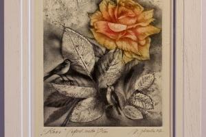 """""""Roos"""" 25 x 19 cm, hind 70.-"""