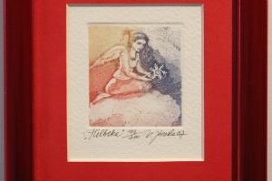 """Helbeke"" 12 x 17 cm, hind 35.-"