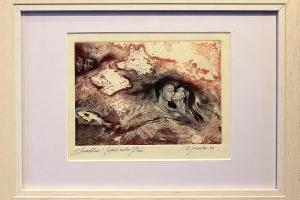"""Suudlus"" 2001 34 x 25 cm"