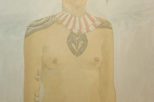 """Leho Rubis """"Läbilõikaja"""", õli, 2017. 90,5 x 131 cm. Hind 1300.-"""