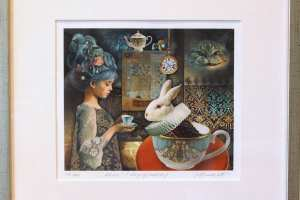 "Made Balbat ""Alice"" (digigraafika), 36,5 x 33,5 cm"