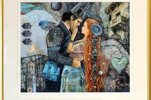"Made Balbat ""Verona"" 2019 (digigraafika) 2019. 50 x 46 cm"