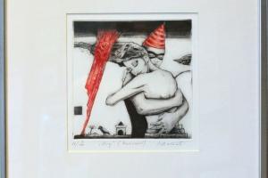"Made Balbat ""Kirg"" (kuivnõel) 42 x 45 cm"