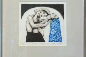 "Made Balbat ""Embus"" kuivnõel, 42 x 45 cm"