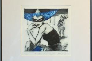 "Made Balbat ""Kevadkarneval"" (kuivnõel) 40 x 39,5 cm"