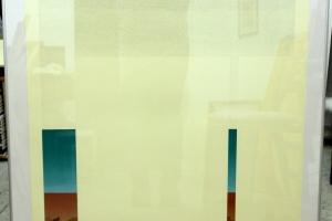 """Mare Vint """"Müürid II"""", 2004, 81x81 cm, hind 750.-"""