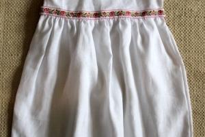 Linane kleit, Suurused 110, seljapealt pael seotav