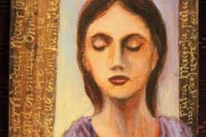 "Monica del Norte ""Sisemine kohtumine"" 13,5 x 14 cm"