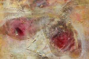 """Monica del Norte """"Armastuse õied XI"""" 2019, 56 x 51 cm."""