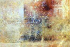 "Monica del Norte ""Hilinenud kiri emale"" 140 x 120 cm."