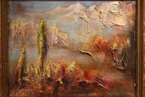 "Monica del Norte "" Sierra de Nieves rahvuspark"". 37,5 x 47 cm."