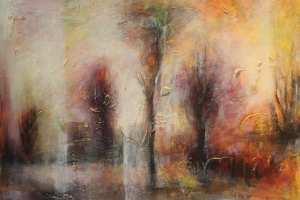"Monica del Norte ""Rabaküpressid I"" 70 x 100 cm"