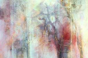 "Monica del Norte ""Rabatamm"" 70 x 100 cm."