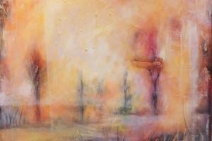 """Monica del Norte """"Rabamaastik"""" 2018, 119 x 119 cm"""