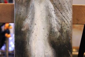 """Monica del Norte """"Kohtumine"""" 2018, 33 x 14,5 cm"""