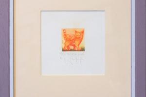 "Navitrolla ""Õde on hea"" (kuivnõel) 2007. 25 x 25 cm."