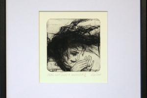 "Reti Saks ""Sätib käsi hästi 1."" 2008. 28 x 29,5 cm"