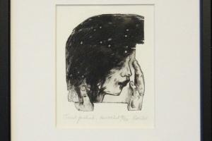 """Reti Saks """"Tuul puhub"""" 2011. 25 x 22 cm"""