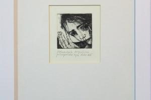 """Reti Saks """"Kohendab pühapaistet"""" 27,5 x 21 cm"""