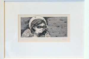 """Reti Saks """"Argentina"""" (kõrgtrükk) 2000. 38 x 28,5 cm."""