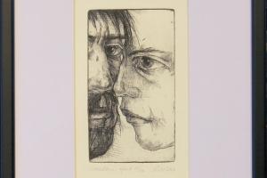 """Reti Saks """"Suudlus"""" 2006, 30,5 x 24 cm"""