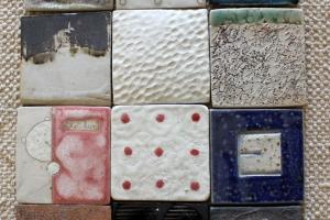 Tiina Kaljuste seinaplaat või tassialus 20€