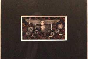 """Viive Noor """"Mälestused suvest. Herbaarium"""" 2014. 50 x 60 cm"""