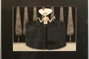 "Viive Noor ""Punamütsike. Labürint"" 2015. 50 x 60 cm"