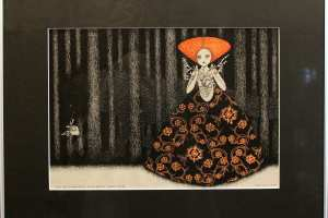 "Viive Noor ""Punamütsike. Igavesti sinu"" 2015. 50 x 60 cm"