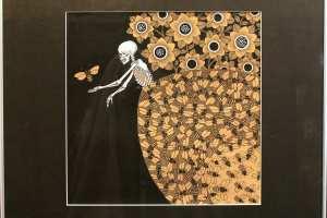 """Viive Noor """"Queen Bee II"""" 2014. 50 x 60 cm"""
