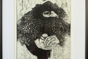 """""""Unelaul"""", 41 x 49 cm"""