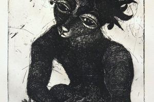 """""""Maokandja"""" 2019. 32 x 42 cm"""