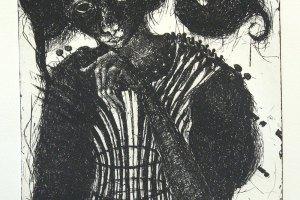 """""""Korstnapühkija"""" 2019. 42 x 35 cm"""