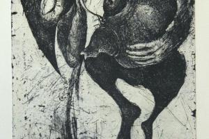 """Tassike"" 2019. 30 x 36 cm"