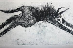 """""""Jää minek"""" 2019. 107 x 66 cm"""